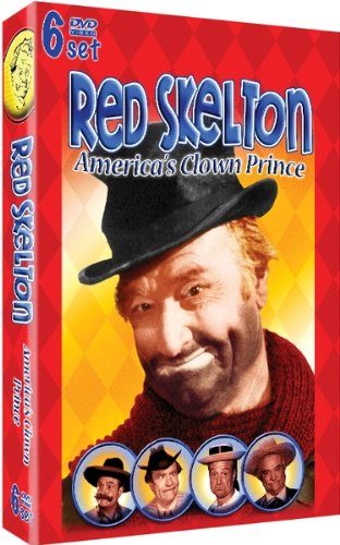 Red Skelton - America's Clown Prince - 6 DVD Set - 30 Hilarious Episodes!