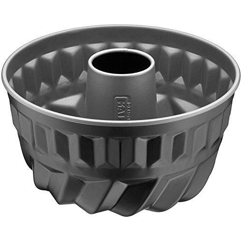 Kaiser Inspiration Gugelhupfform Mini 16cm, Gugelhupf Backform klein rund, schwarz, Kuchenform antihaftbeschichtet für 1/2 Rezeptportion