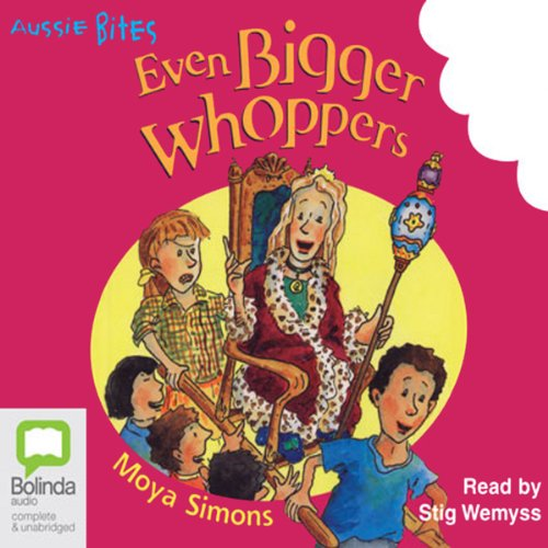 Even Bigger Whoppers: Aussie Bites audiobook cover art