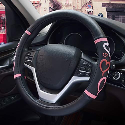 """HONCENMAX Donne Veicolo Coprivolante Auto Protezione del Volante Fashion - Universale per Auto/Camion/SUV Diametro 38 cm (15"""")"""