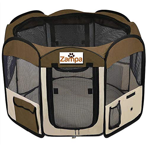 Pet Playpen Foldable Portable Exercise Kennel