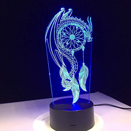 Lámpara de Mesa de luz Nocturna Tipo bolígrafo con Control