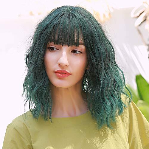 pelucas verdes cortas on-line