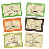 Khadi Herbal Khadi Naturals Assorted Natural Soap Gift Set, 125 g