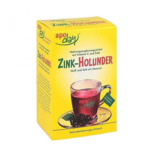 apoday Zink-Holunder zuckerfrei, 10 St. Beutel