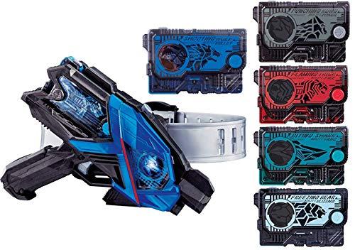 仮面ライダーゼロワン 変身ベルト DXエイムズショットライザー + DXフレイミングタイガー + DXフリージングベアー + DXバイティングシャーク + DXパンチングコング プログライズキー4種セット