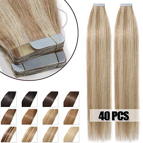 Extensiones Adhesivas Cabello Natural 100g - 40 piezas