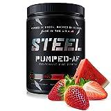 Steel Supplements Pumped-AF Pre Workout Powder w/Hydromax &...