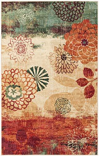 Mohawk Home Strata Pandora Floral Printed Area Rug, 7'6x10', Multicolor