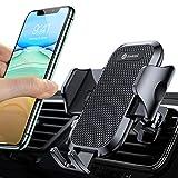 andobil Handyhalterung Auto Upgrade Handyhalter fürs Auto mit 2 Lüftungsclips Lüftung Auto...