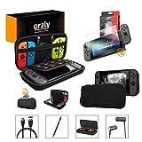 Orzly Pack Esencial de Accesorios para Nintendo Switch [Incluye:...