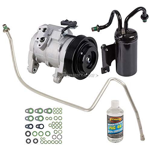 AC Compressor & A/C Repair Kit For Dodge Ram 5.7L Hemi V8 2003 2004 2005 2006 2007 2008 - BuyAutoParts 60-80307RK New