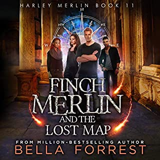 Finch Merlin and the Lost Map Titelbild