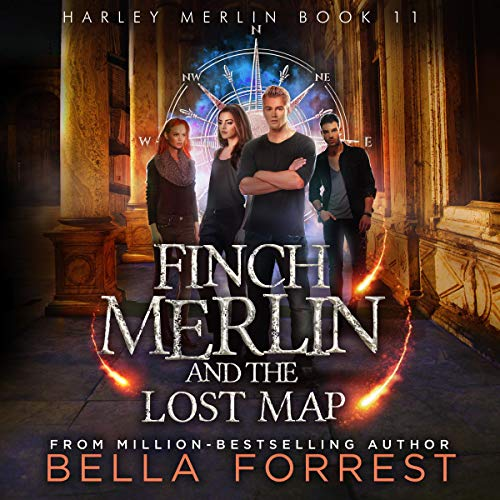 Finch Merlin and the Lost Map cover art