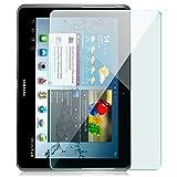 zanasta Verre Trempé Compatible avec Samsung Galaxy Tab 2 (10,1') Film Protection d'écran, Anti...