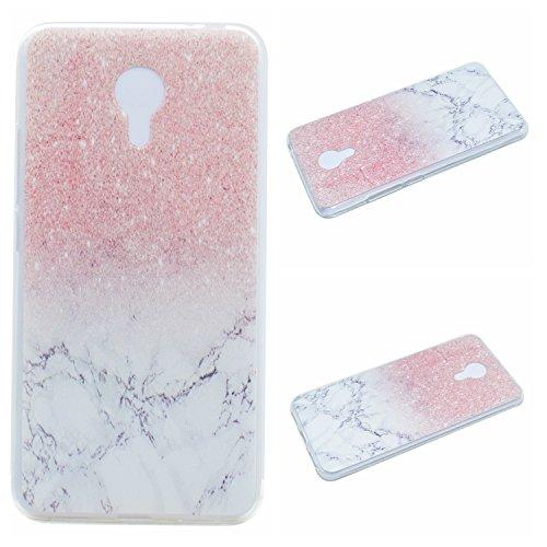 Qiaogle Teléfono Caso - Funda de TPU Silicona Carcasa Case Cover para Meizu Note 3 / M3 Note (5.5 Pulgadas) - MM01 / Natural Paisaje