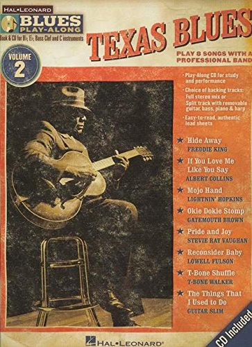 Blues Play-Along Volume 2: Texas Blues: Play-Along, CD für Instrument(e) in b