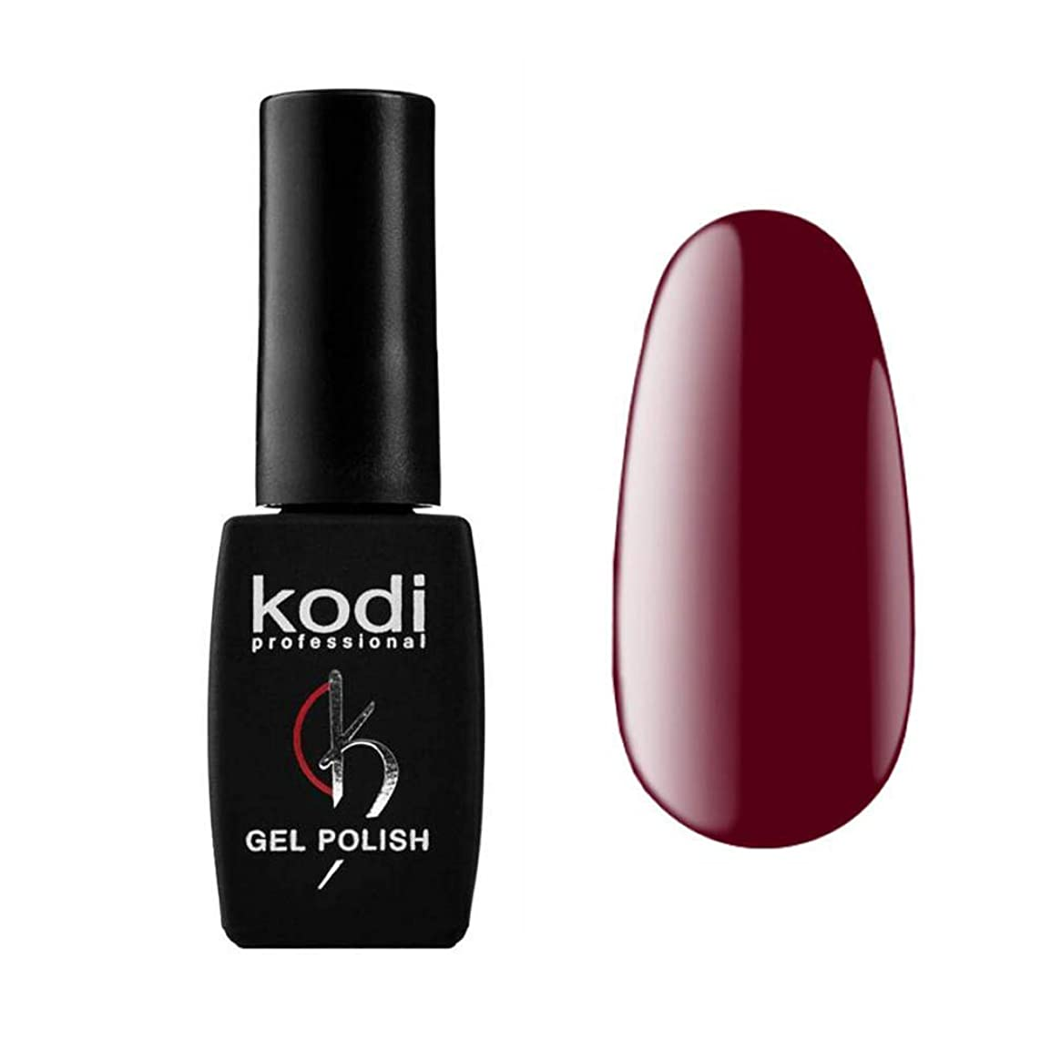 ボトル重荷グラフKodi Professional New Collection WN WINE #20 Color Gel Nail Polish 12ml 0.42 Fl Oz LED UV Genuine Soak Off