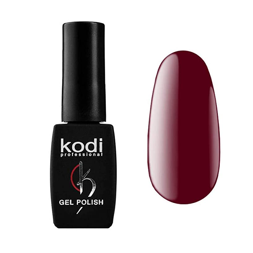 権利を与えるを除く修復Kodi Professional New Collection WN WINE #20 Color Gel Nail Polish 12ml 0.42 Fl Oz LED UV Genuine Soak Off
