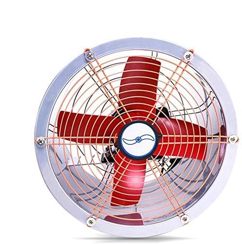 Quiet axial del conducto del ventilador extractor en línea 255 mm, 50W Industria de Turbo flujo mixto en Línea Extractor, por áticos, respiraderos, Crecer tiendas de campaña, sótanos, el volum