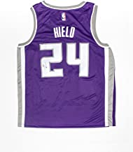 Sacramento Kings Swingman Icon Jersey Autographed by Buddy Hield