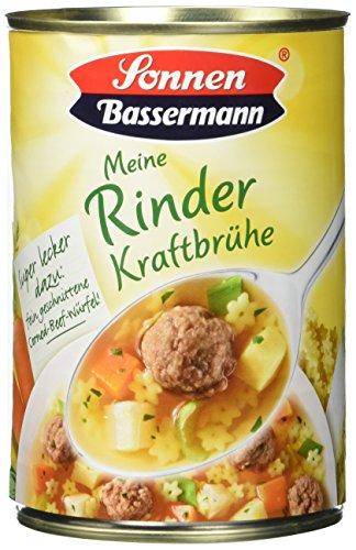 Sonnen Bassermann Rinder-Kraftbrühe, 6er Pack (6 x 400 ml)