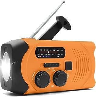 【2019進化版】手回し充電ラジオ 防災ラジオ 多機能 緊急ラジオ 非常用 手回し ラジオ 防災USB充電 太陽光充電 停電緊急対策 SOS警報 2000mAH AM/FMラジオ