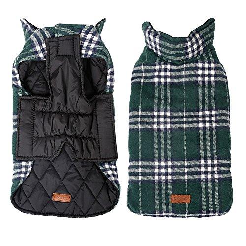 Kimfoxes - Cappottino per cani, giacca per cani, maglione caldo per l'inverno per cani piccoli e...