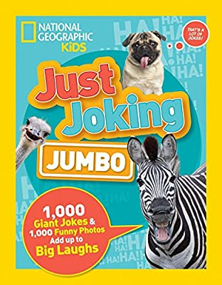 Jumbo version of Just Joking by National Geographic Kids