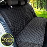 Paw Jamboree car seat Covers for Dogs 100% Waterproof Dog Car Seat Covers Back Seat Cover for Dogs Pet Car Seat Cover for Car & SUV