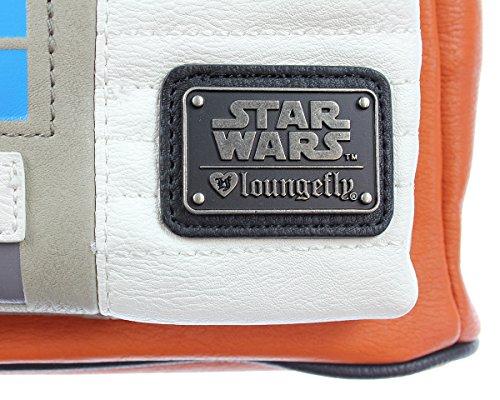 51ABylNrVzL - Loungefly STBK0053 - Mini Mochila Licencia Star Wars Rebel - Multicolor