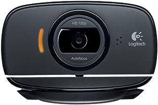 Logitech C525 960-000721 720p HD Webcam, Black
