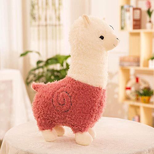 Pluche Schattige Schattige Alpaca Knuffel Pop-Pink_65cm