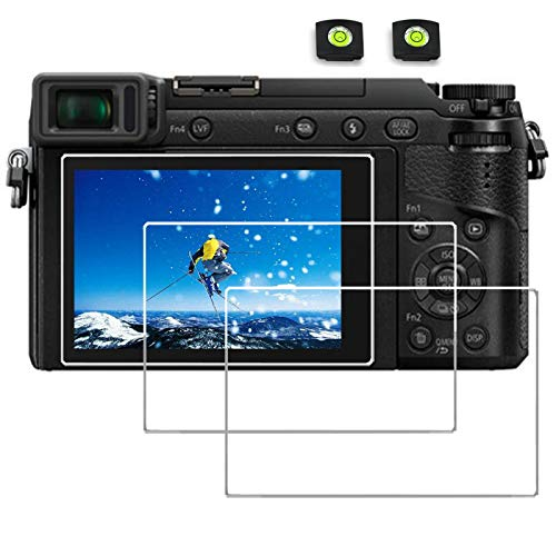 Screen Protector for Panasonic Lumix S5 DC G100 DMC-LX10 LX10 II DMC-GX8 DC-GX9 GX9 GX85 DMC-LX10 LX9 G9 G85 G7 G7 mark ii FZ300 FZH1 GX7 II III,desous Anti-finger Tempered Hard Protective Cover