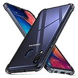ORNARTO Funda Samsung A20e,A20e Carcasa Silicona Transparente Protector TPU Airbag Anti-Choque Ultra-Delgado Anti-arañazos Case Caso para Teléfono Samsung Galaxy A20e(2019) 5,8' Negro