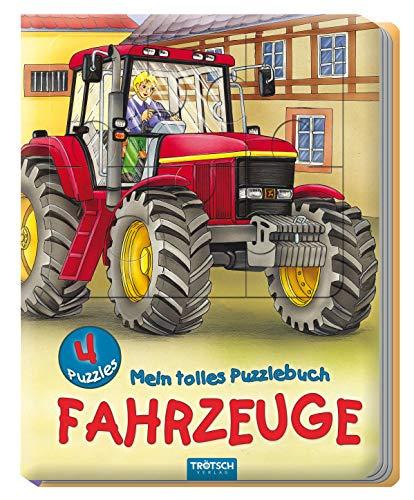 Trötsch Fahrzeuge Puzzlebuch Beschäftigungsbuch Entdeckerbuch Puzzlebuch