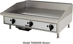 "Toastmaster TMGT24 24"" Thermostatic Control Gas Griddle"