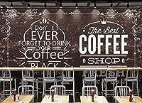 写真の壁紙手描きのイングリッシュコーヒーの装飾的な絵画の背景の壁リビングルームの壁の芸術の壁の装飾の家の装飾のための大きな壁壁画シリーズの壁紙-98.4x68.9inch/250cmx175cm