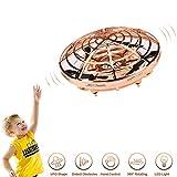 UFO Drohne, Mini Drohne für Kinder Drohne Fliegend Ball Spielzeug Hubschrauber Quadrocopter mit LED Licht Infrarot Induktions Flying BallDrohne für Jungen Mädchen Kinder Anfänger