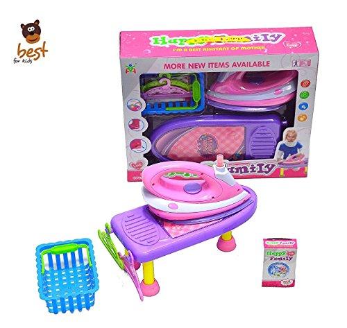 Best For Kids Bügelbrett mit Bügeleisen Kinderbügeleisen inkl. Zubehör