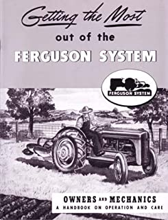 1939 1946 1947 FERGUSON 2N 8N 9N TRACTOR Owners Manual