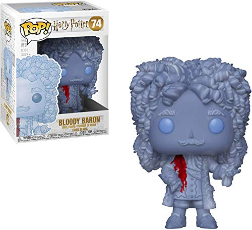 Funko POP! Harry Potter S5 - Bloody Baron Pop Bundled with PopShield Pop Box Protector.The Bloody Baron makes for a ghostly addition to any Pop! Collection image
