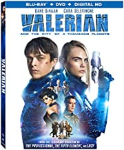 Valerian and the City of a Thousand Planets [Blu-ray]