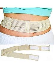 ZZYYZZ Cinturón de protección de diálisis Abdominal, Suministros de diálisis peritoneal con Correa de fijación del Tubo de diálisis Tamaño Ajustable