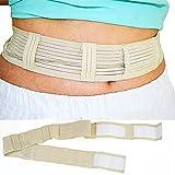 ZZYYZZ Abdominal Dialysis Protection Belt, Peritoneal Dialysis Supplies with Dialysis Tube Fixation Strap Adjustable Size,M