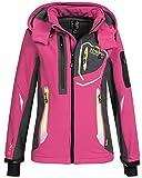 Geographical Norway Damen Softshelljacke Jacke Thailande flashy pink M