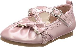 [马赛威斯] 编织绑带 平底鞋 女孩 5427C 共2种图案