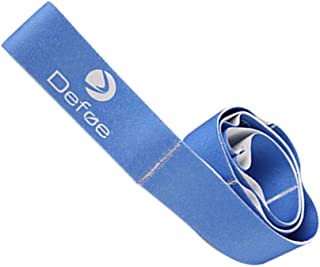 Children Adults Dancing Exercise Stretch Band Yoga Pull Strap Gym Fitness Resistance Band, Blue