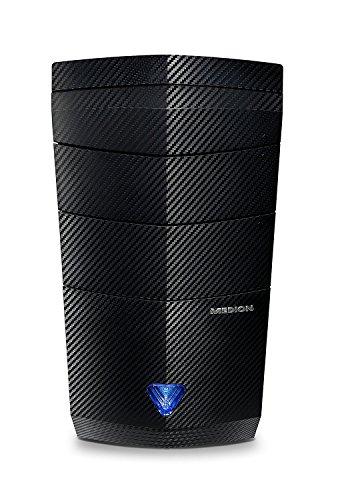 Medion S91 – Ordinateur de Bureau (Intel Core i7 3.4 GHz, NVIDIA GeForce GTX 1060 – 6 Go DDR5, Disque Dur de 1 TB, 16 Go de RAM) Noir