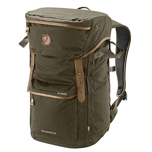 Fjallraven - Stubben Backpack for Outdoor Activities, Dark Olive